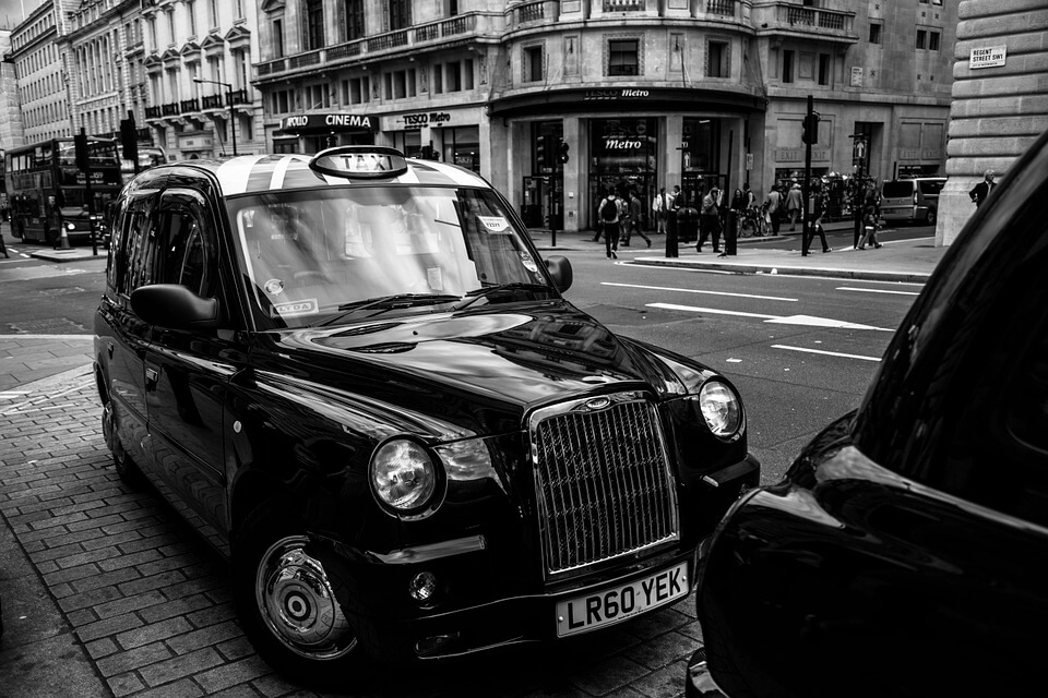 Taxis at Christmas